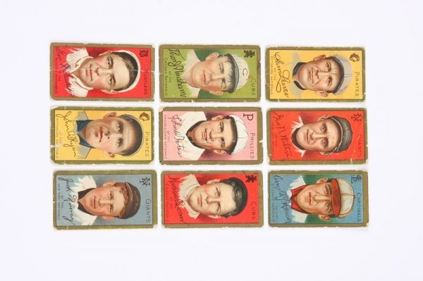 2011: Grouping of T-205 Baseball Cards