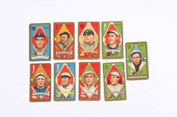 2013: Grouping of T-205 Baseball Cards
