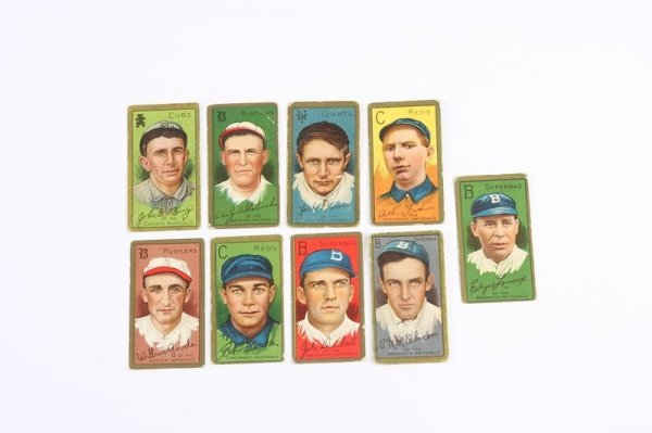 2014: Grouping of T-205 Baseball Cards