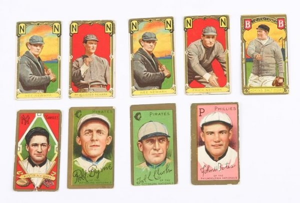 2016: Grouping of T-205 Baseball Cards