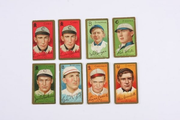2018: Grouping of T-205 Baseball Cards