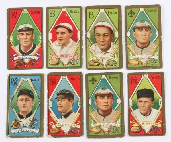 2019: Grouping of T-205 Baseball Cards