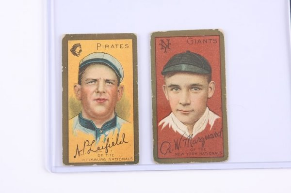 2021: Pair of T-205 Baseball Cards