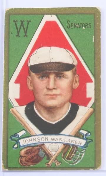 2022: T-205 Baseball Card-Walter Johnson
