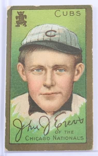 2023: T-205 Baseball Card-John J. Evers