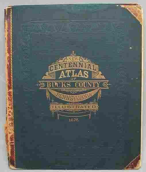 2095: Bucks County (PA) Atlas 1876