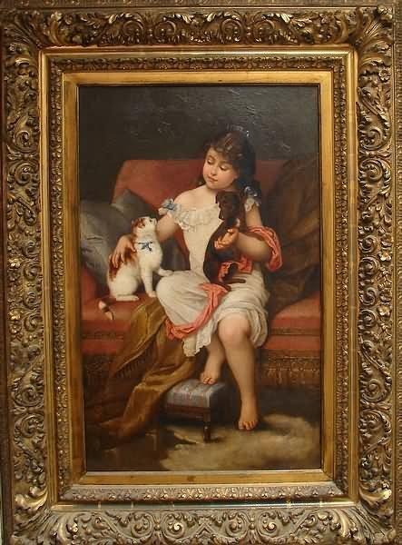 3001: 19th Century Interior Portrait