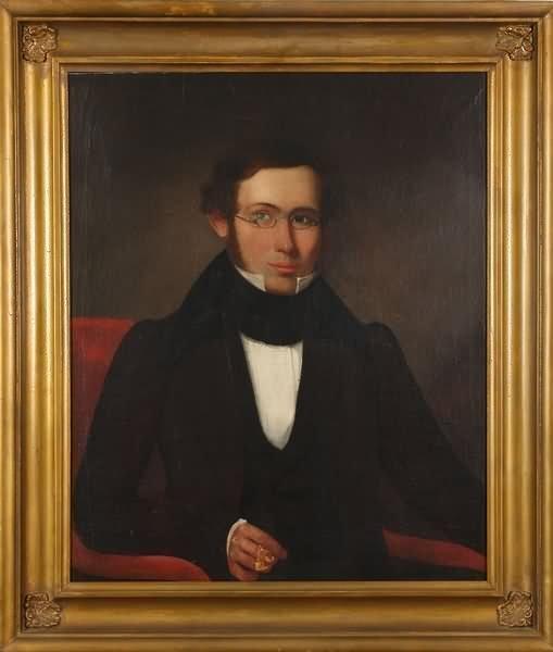 3004: 19th Century Portrait of a Gentleman