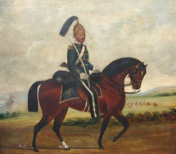 3008: Equestrian Portrait