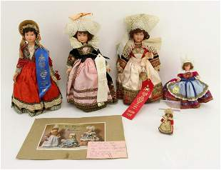LOT OF CELLULOID DOLLS