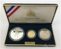 United States Gold and Silver Columbus Quincentenary