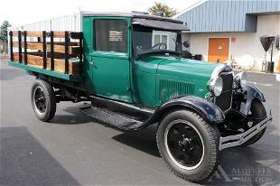 928 Ford Model A Stake Body Truck