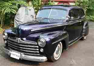 1947 Ford Deluxe Custom Street Rod