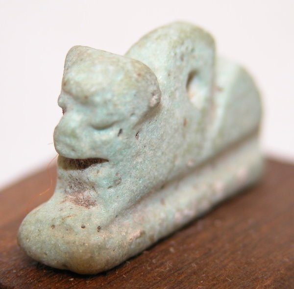 10: Ancient Egyptian Amulet.