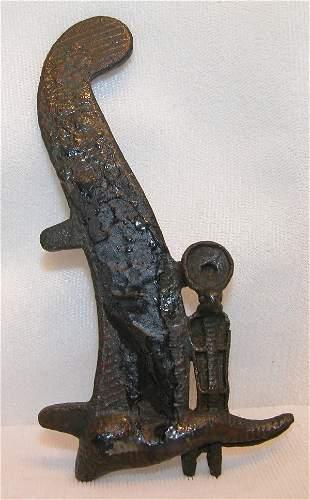Ancient Egyptian Bronze Fragment.