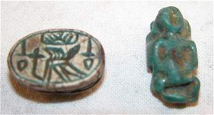 Pair of Egyptian Artifacts.