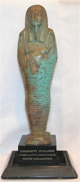 Ancient Egyptian Ushabti Figure.
