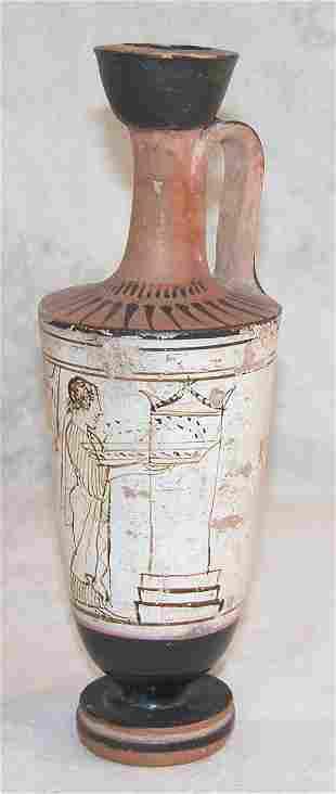 Ancient Greek Pottery-Lekythos.