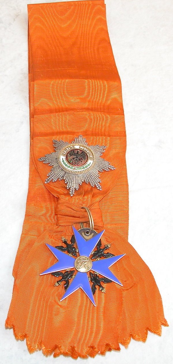 108: Prussian Order of the Black Eagle.