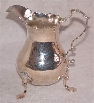 Georgian Silver Cream Jug.