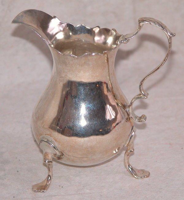 538: Georgian Silver Cream Jug.