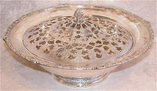Sterling Silver and Plated Center Bowl.