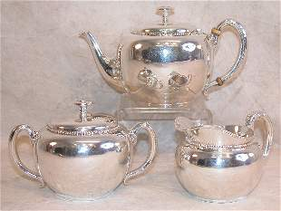 Sterling Silver Tea Service - Tiffany.