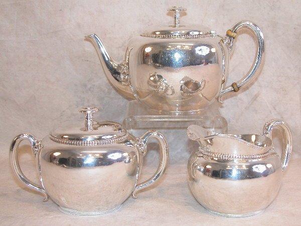 549: Sterling Silver Tea Service - Tiffany.