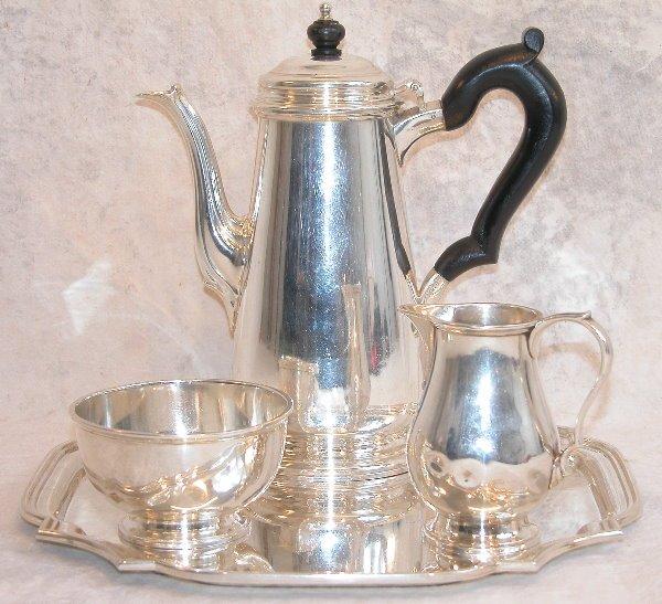551: Sterling Silver Coffee Service - Tiffany.