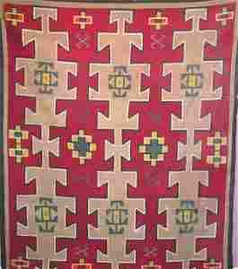 705: Native American Rug - Navajo.