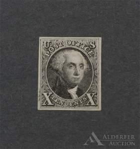 US #4 Unused Stamp