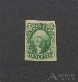 US #14 Unused Stamp