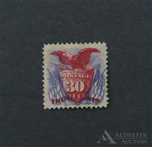 US #121, Unused Stamp