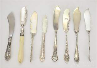Sterling Silver Butter Spreaders