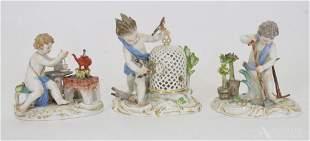 Meissen Figurines of the Elements