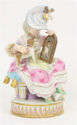 Meissen Figurine of a Young Girl
