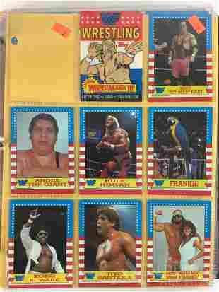 1987 Topps WWF Wrestling card set