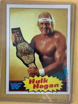 1985 Topps Pro Wrestling Hulk Hogan trading card