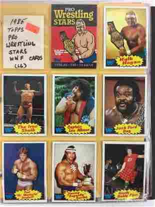 1985 Topps Pro Wrestling trading card set