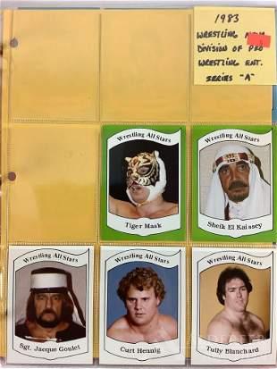 1983 Wrestling News trading cards