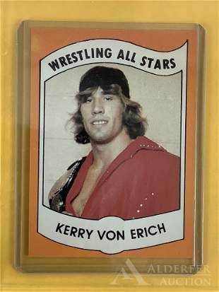 1982 Wrestling News Kerry Von Erich trading card