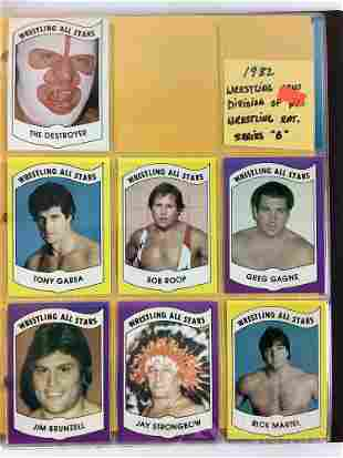 1982 Wrestling News trading cards