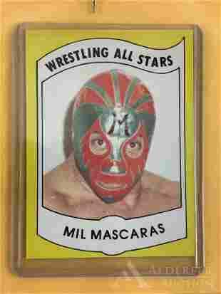 1982 Wrestling News Series Mil Mascaras trading card