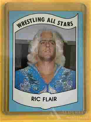 1982 Wrestling News Ric Flair trading card
