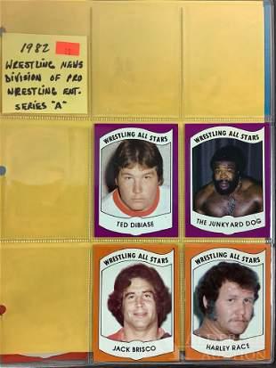 82 Wrestling News trading cards
