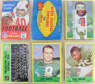 1967-69 Football trading cards and wrappers