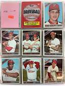 1966-69 Topps Baseball cards & wrappers