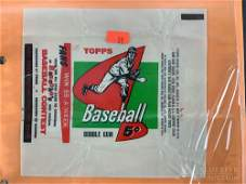 1958 Topps baseball cards & wrappers