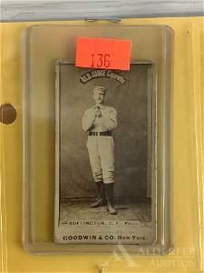 Old Judge N-172 baseball tobacco card