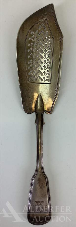 William IV English Sterling Silver Fish Knife